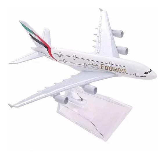 Miniatura Airbus A380 Jumbo - Emirates
