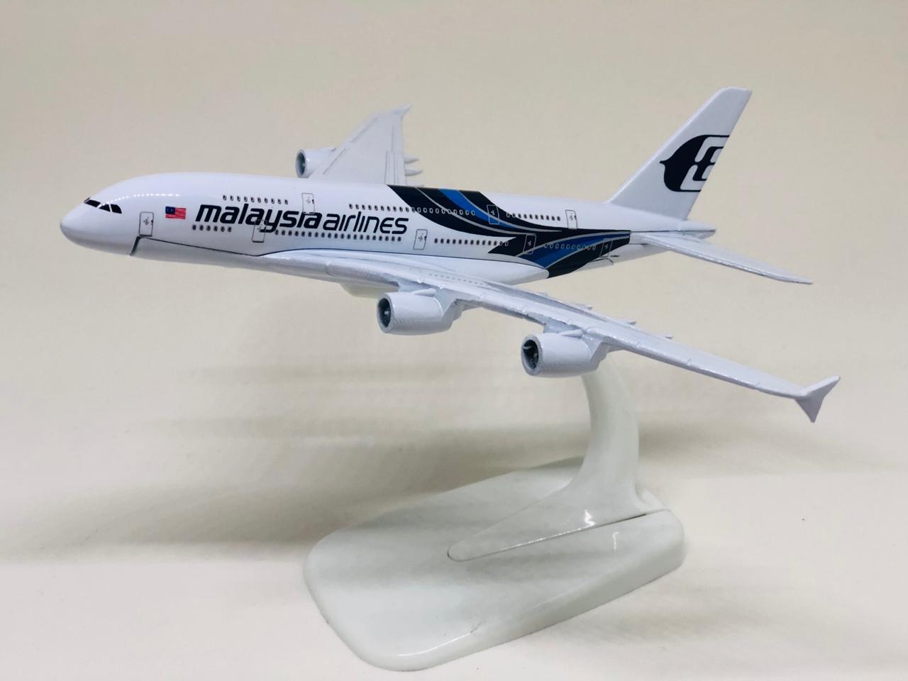 Miniatura Airbus A380 - Malaysia