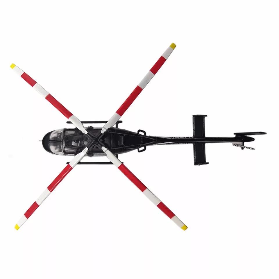 Miniatura Bell 407 GX (Escala 1:72)