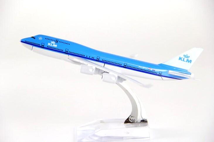Miniatura Boeing 747-400 - KLM