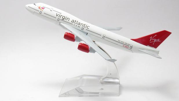 Miniatura Boeing 747 - Virgin Atlantic