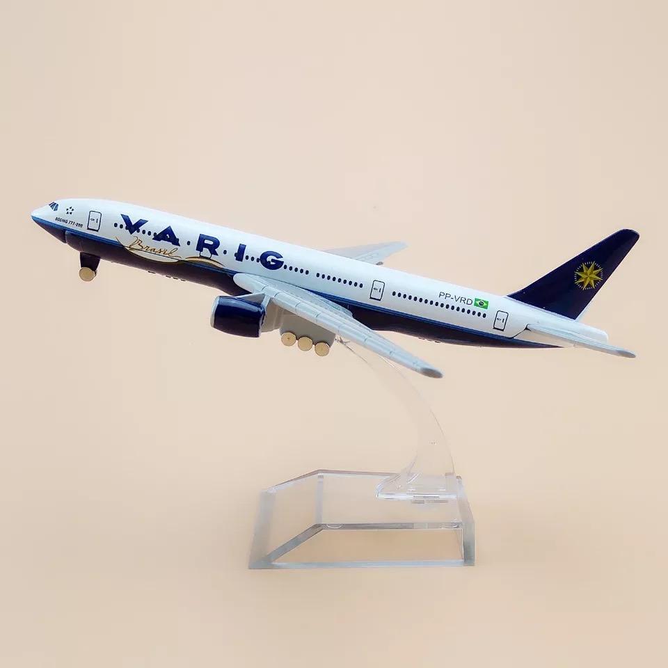 Miniatura Boeing 777 - VARIG