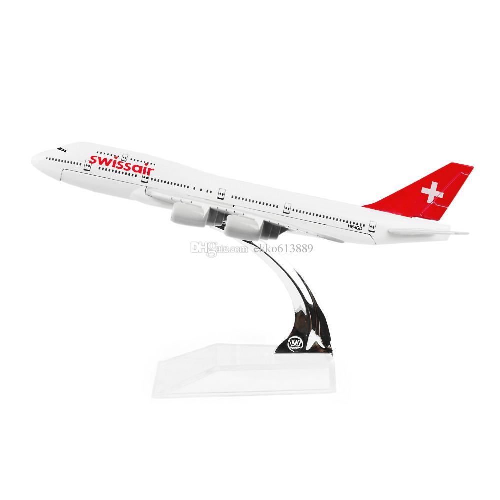 Miniatura Boeing B747 - Swissair