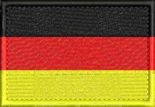 Patch - Bandeira da Alemanha