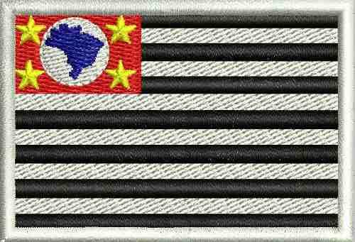 Patch - Bandeira de São Paulo