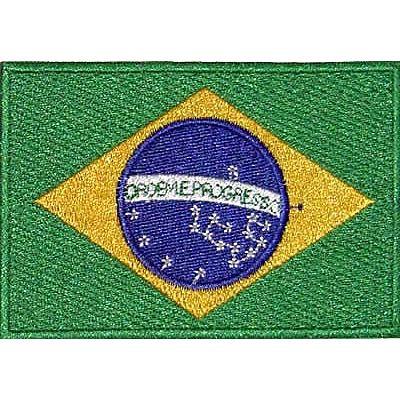 Patch - Bandeira do Brasil Preta