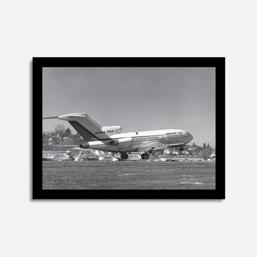 Quadros Vintage - Boeing 727