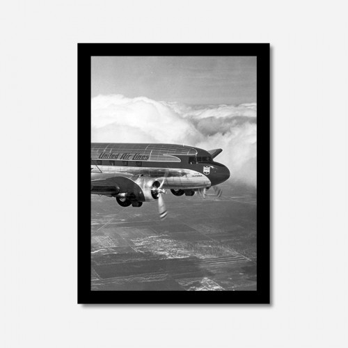 Quadros Vintage - DC3 United