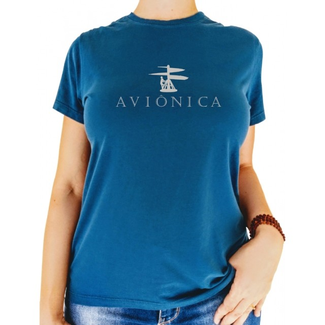 T-shirt Feminina - Aviônica