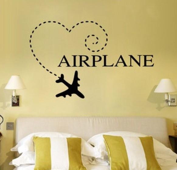 Wall Sticker - Airplane