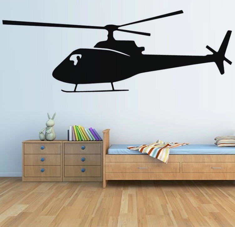 Wall Sticker - Helicopter