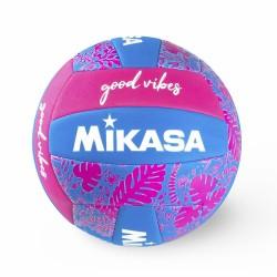 Bola de Voleibol Mikasa Good Vibes - Azul e Rosa