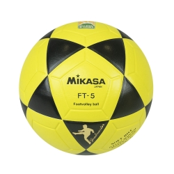 Bola Oficial de Futevôlei Mikasa FT-5 - Amarela/Preta