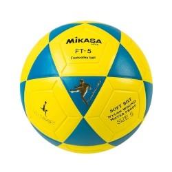 Bola Oficial de Futevôlei Mikasa FT-5 - Padrão FIFA Edição Leo Tubarão