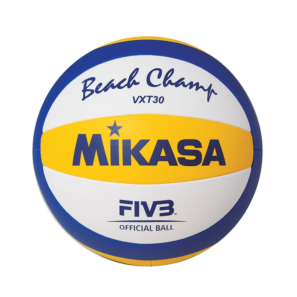 Bola Oficial de Vôlei de Praia Mikasa VXT30 - Padrão FIVB
