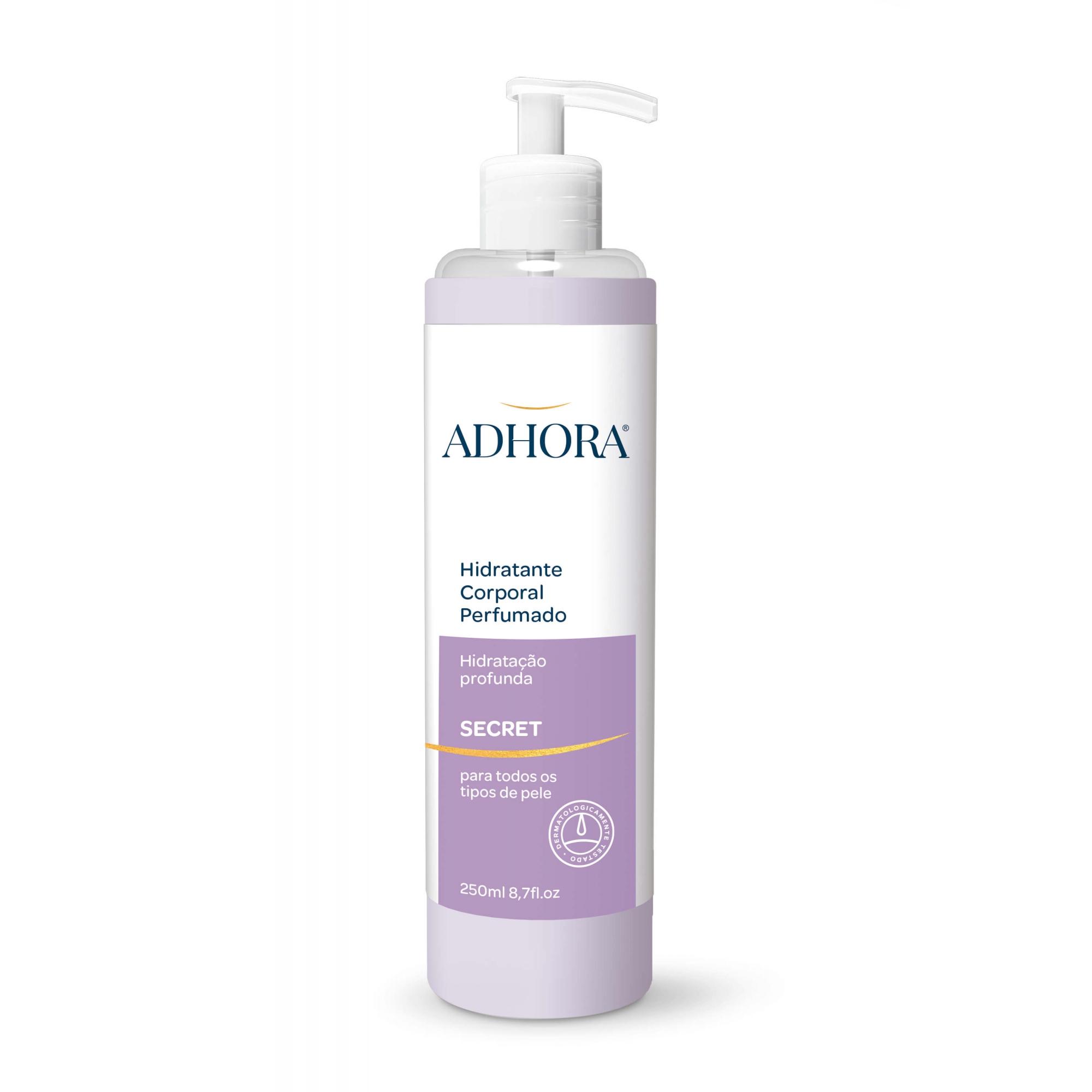 Hidratante Corporal Perfumado Adhora Secret - 250ml