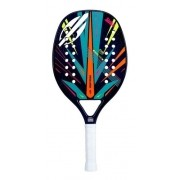 Raquete De Beach Tennis Mormaii Strike Com Capa