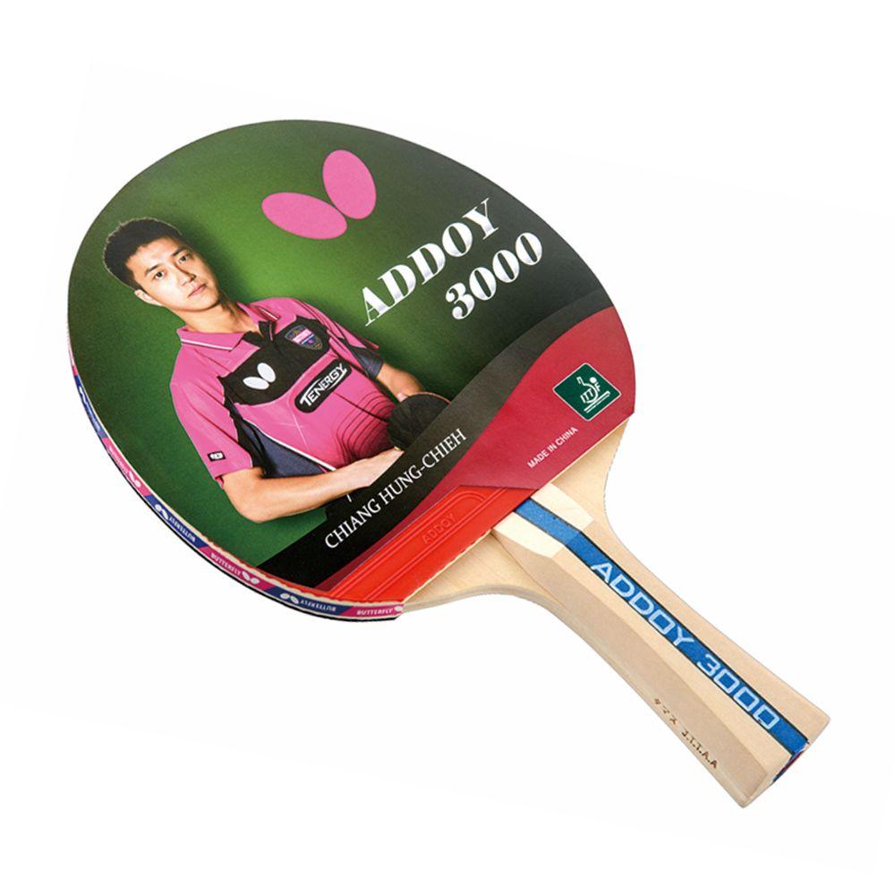 Raquete De Tenis De Mesa Butterfly Addoy 3000 Clássica,