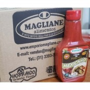 Creme de Pimenta Mexicano Defumado Magliane 250ml caixa com 24 un