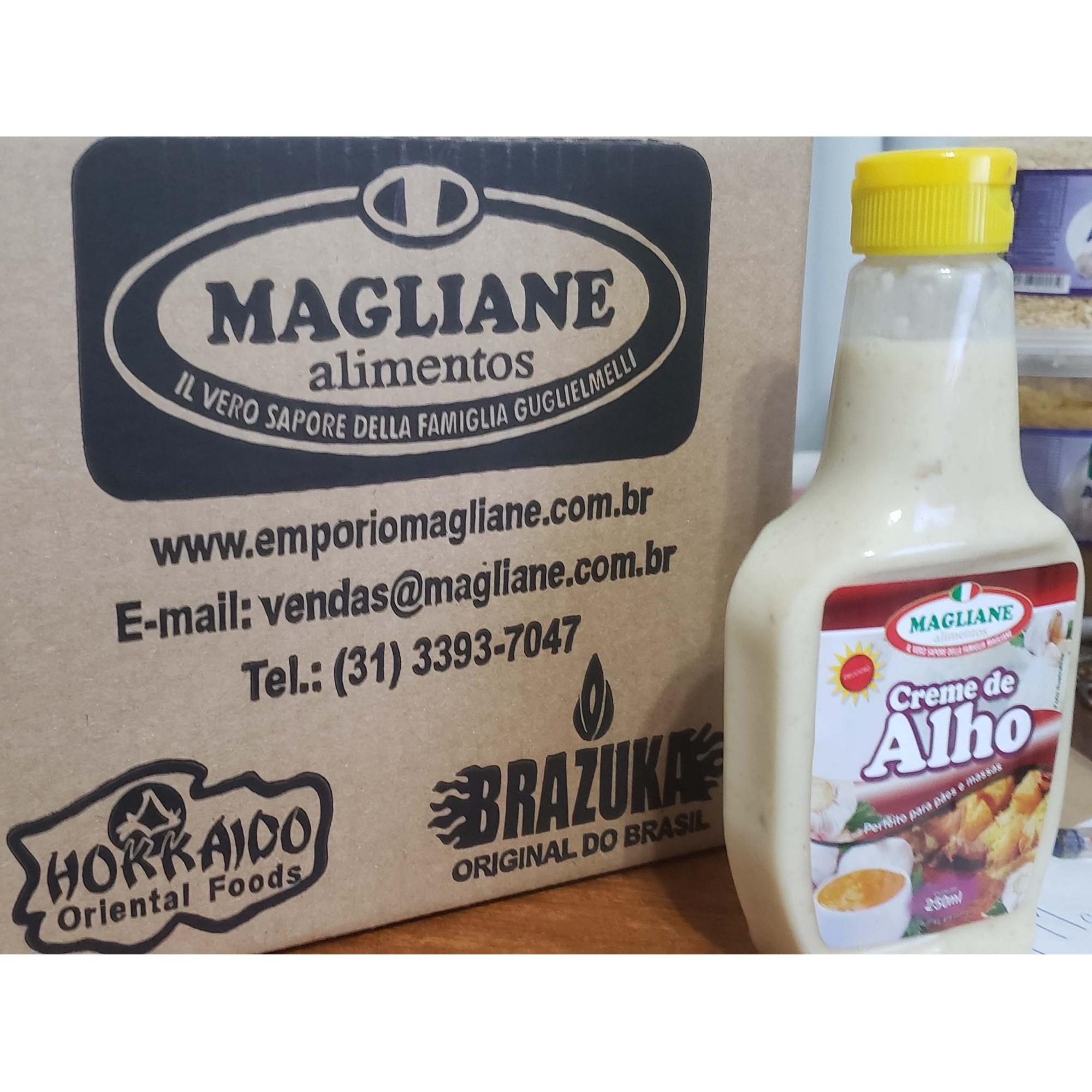 Creme de Alho Magliane 250ml