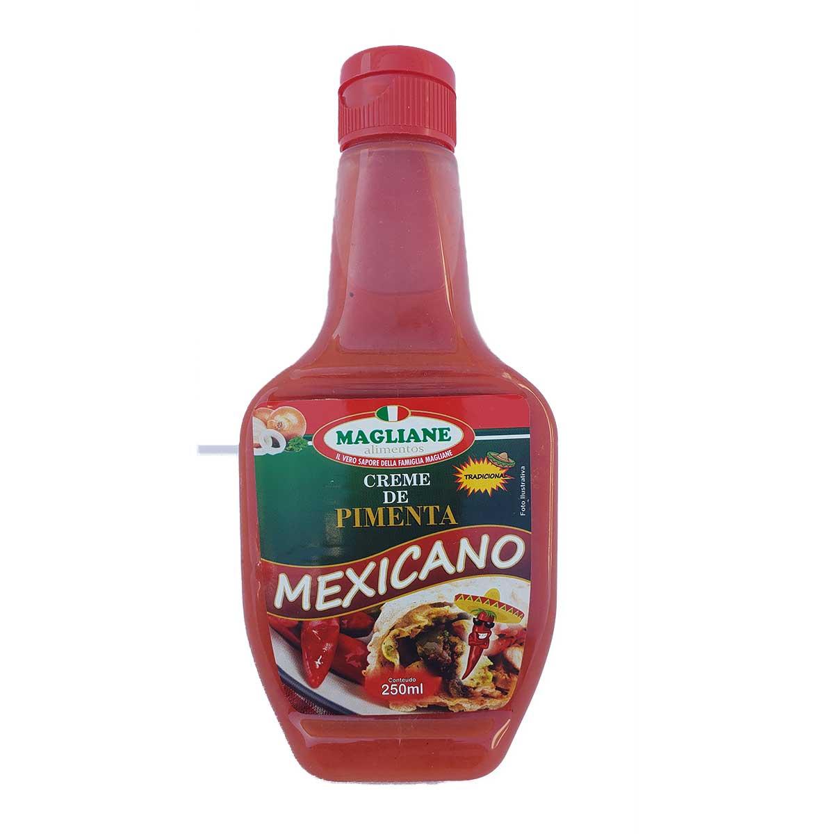 CREME PIMENTA MEXICANO TRADICIONAL MAGLIANE 250G UN