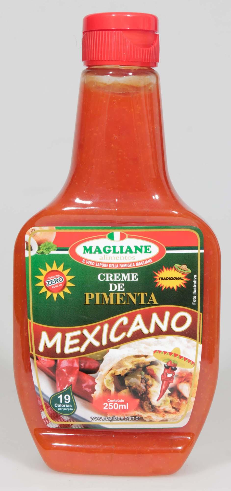 CREME PIMENTA MEXICANO TRADICIONAL MAGLIANE 250G X 24UN