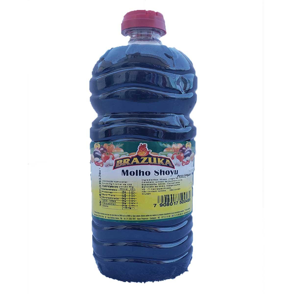 MOLHO ALHO DE PIMENTA SHOYU INGLES 900 MASSA ALHO 3,2g Kit