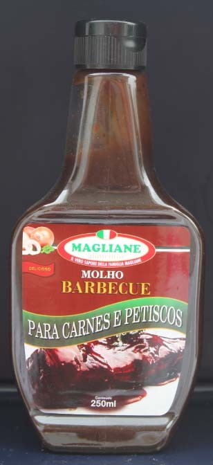 Molho Barbecue 250ml + 15ml gratis