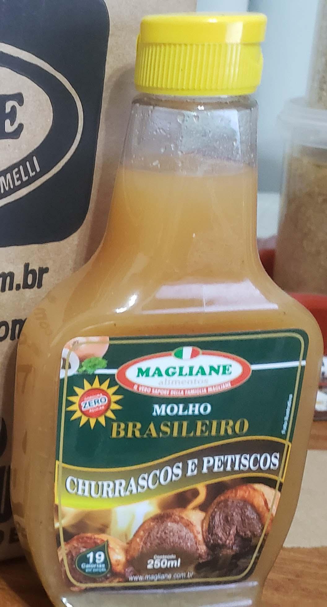 Molho Brasileiro 250ml + 20ml