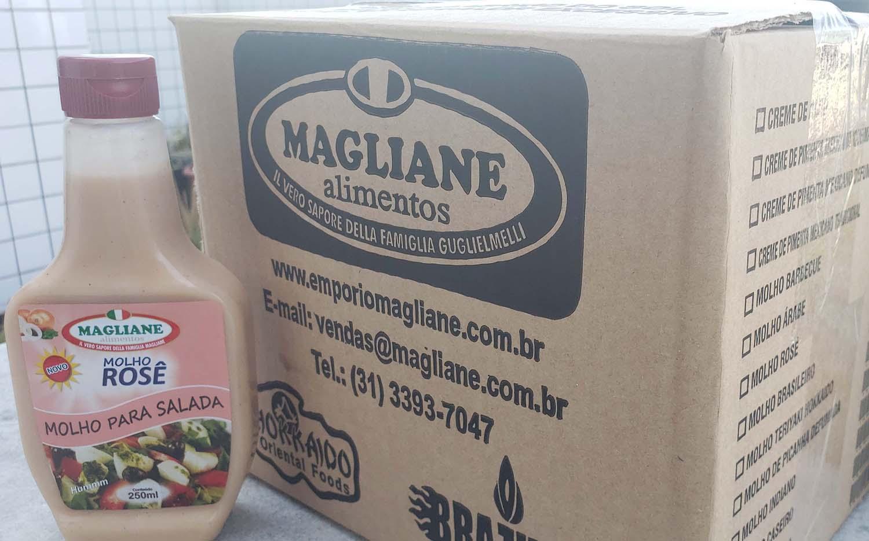 Molho Rosè Magliane 250ml caixa com 24