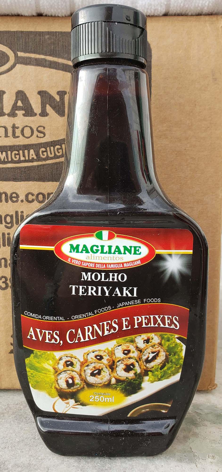 Molho Teriyaki Magliane 250ml