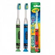 Escova Lighter Crayola Infantil. Pisca Luz Por 60 Segundos GUM