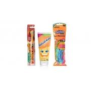 Kit Infantil com escova dental Rei Leão GUM grátis