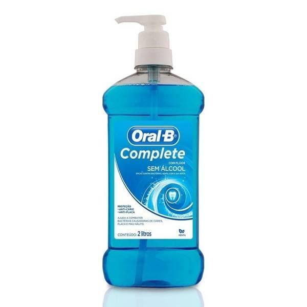 Antisséptico E Enxaguante Bucal Complete Oral-b 2 Litros