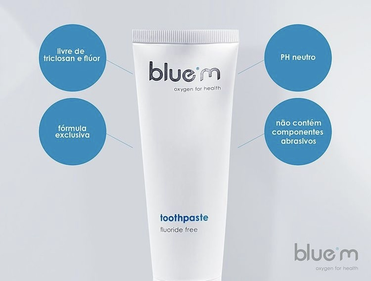 BLUE M creme oral 75 mL