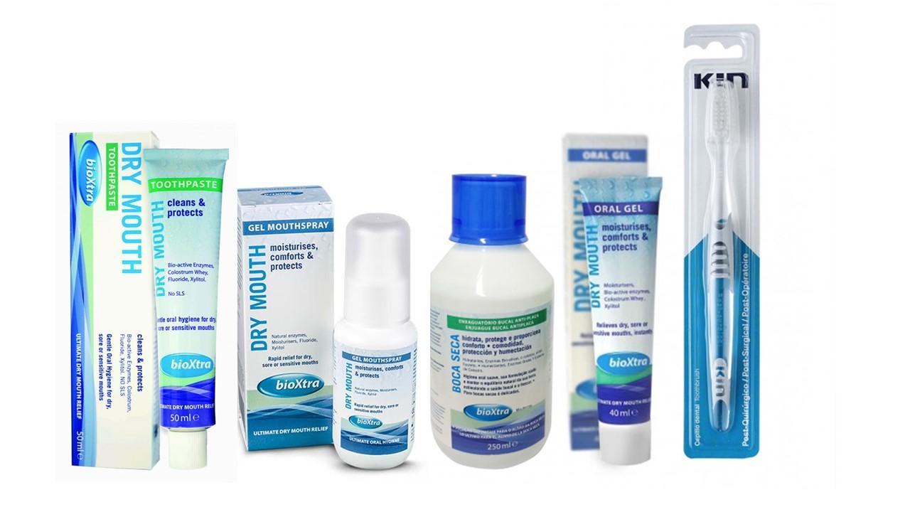 Box Boca seca Bioxtra - 4 entregas em 12 meses - frete grátis - cada kit 348,97