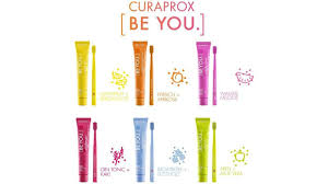 Curaprox Creme Dental BE YOU CHALLENGER 90mL vermelho