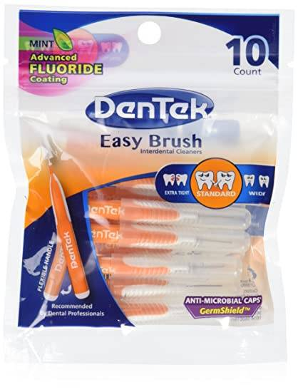 Dentek Easy Brush Regular - Leve 50 escovas e pague 40