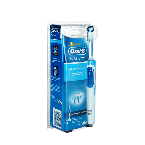Escova Dental Elétrica Oral-B Vitality Precision Clean