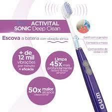 Escova Dental Sônica GUM Suntar