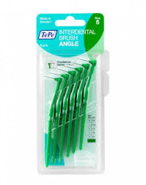 Escova interdental Angle 0,8mm - Verde - TePe