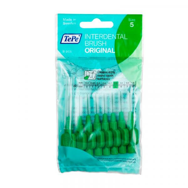 Escova Interdental tepe - macia 0,8mm (verde)