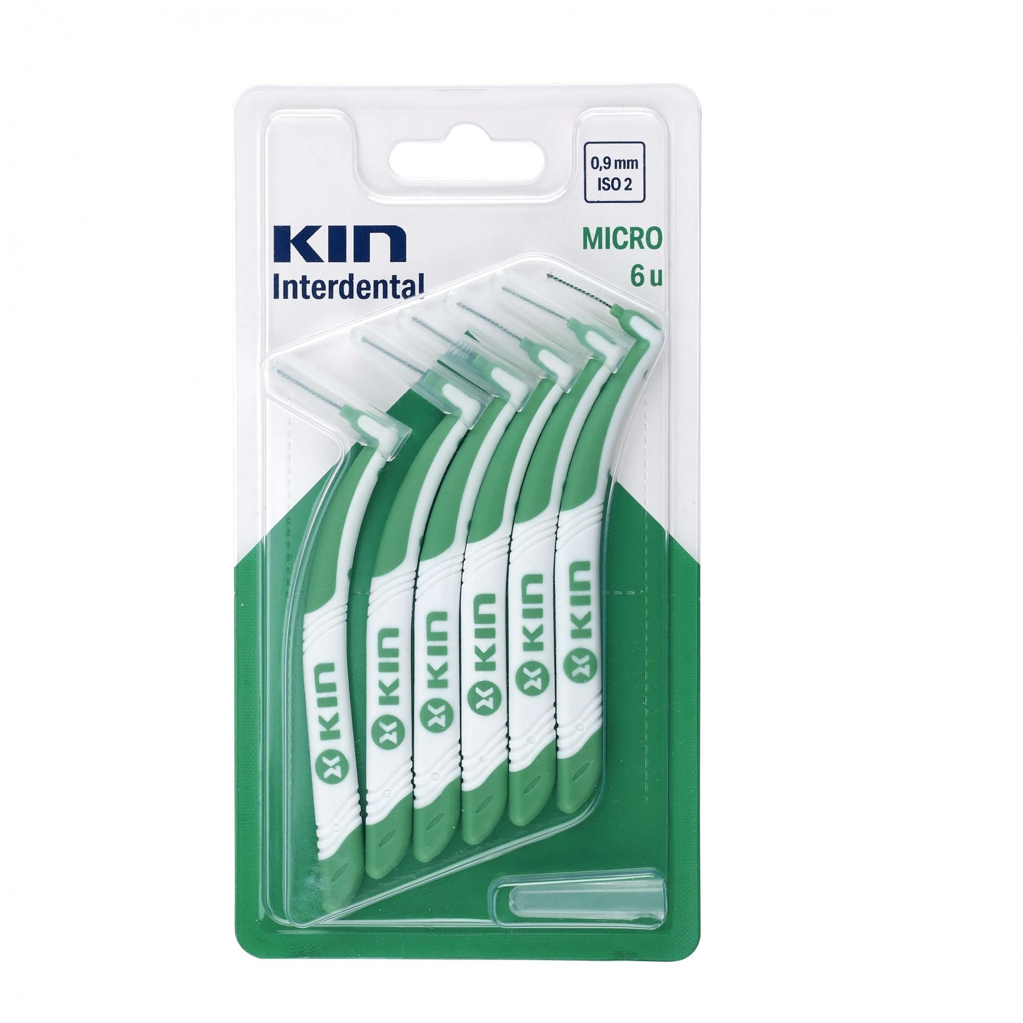 Escova Kin Interdentária Micro (0,9mm - ISO2) - verde