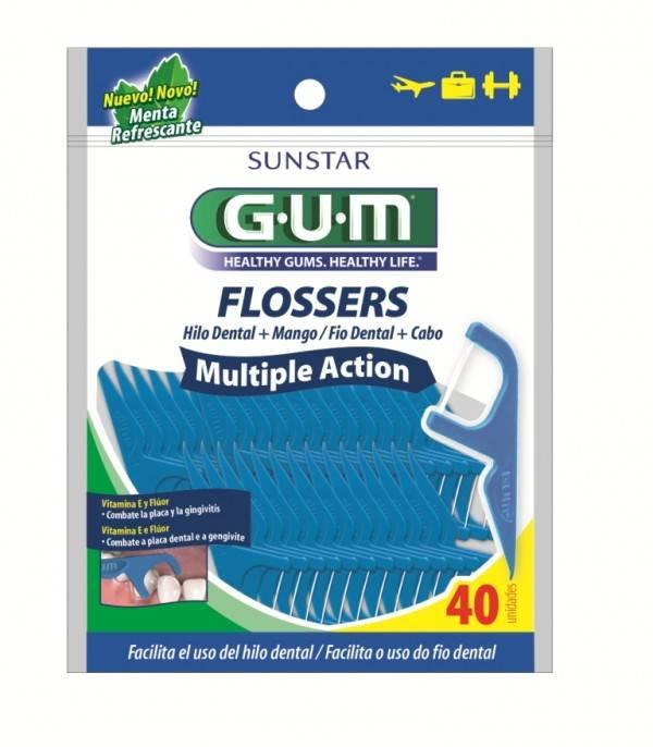 Flosser Multiplique Action 40 Unidades - GUM
