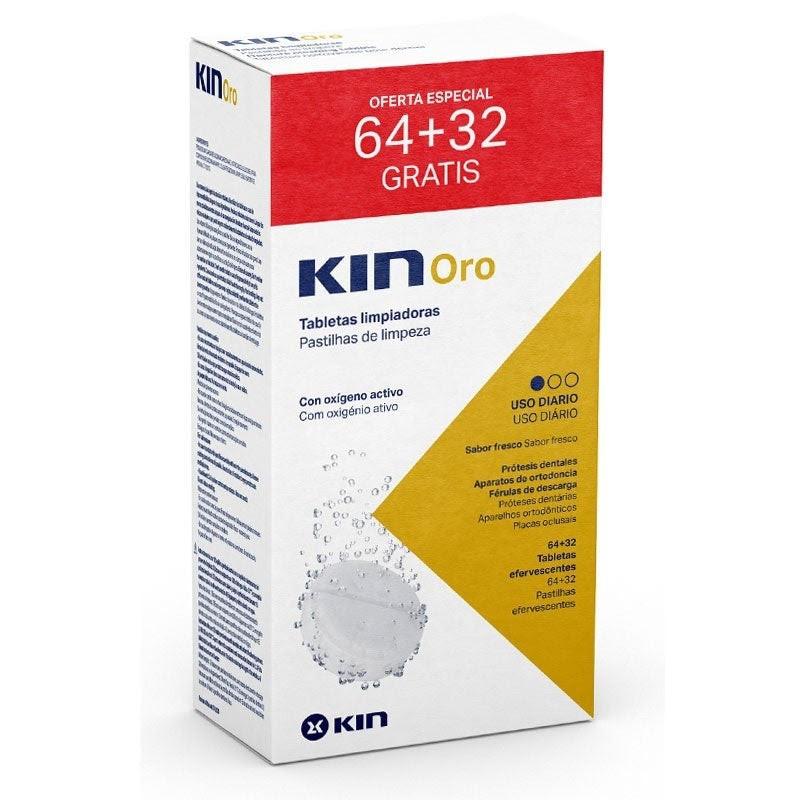 KIN ORO PASTILHAS EFERVESCENTES - embalagem com 96 pastilhas
