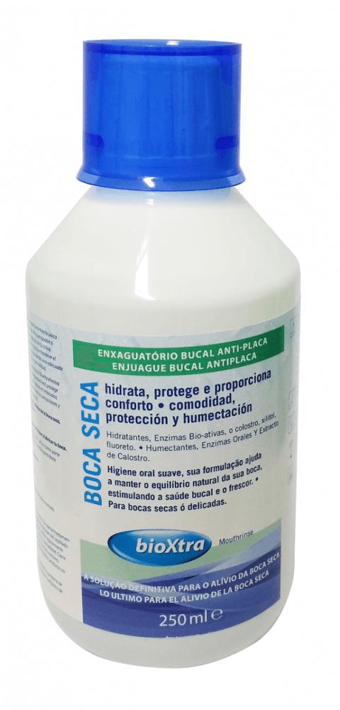 Kit Bioxtra Boca Seca Enxaguatório + Gel com escova ultramacia ADDS grátis