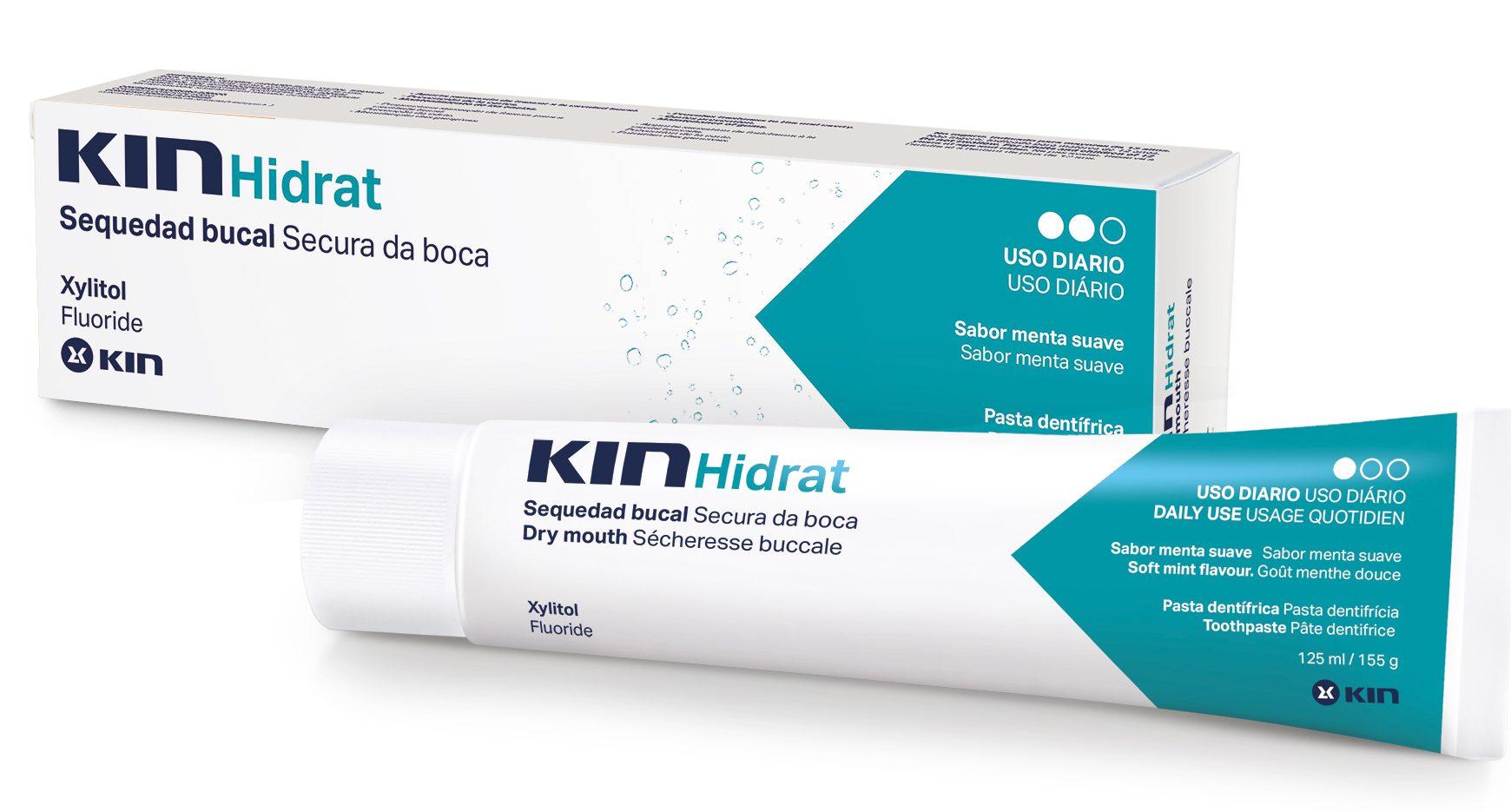 Kit com 2 Cremes Kin Hidrat +1  Escova Ultramacia grátis