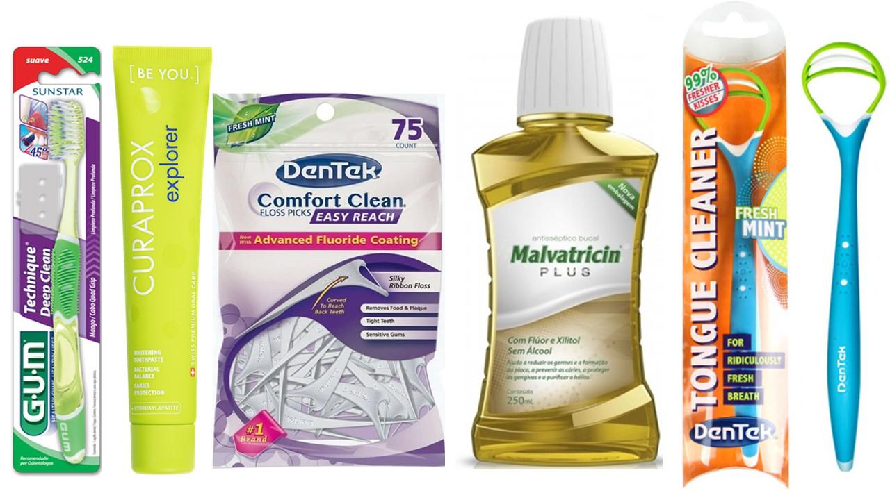 Kit Completo Saúde Bucal com 5 produtos