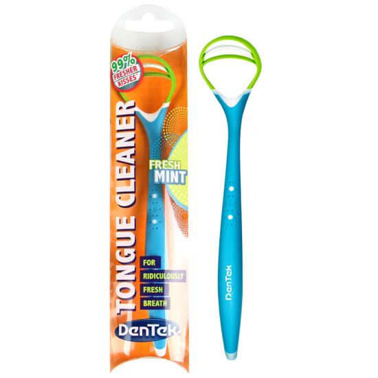Limpador de Língua grátis na compra de 3 unidades de Dentek Easy Brush Tight