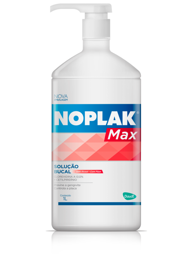Noplak Max 1L - inclui 100 copinhos descartáveis
